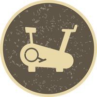Vektor vektor cykel maskin ikon