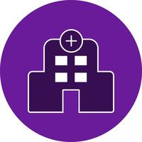 Icona dell'ospedale di vettore