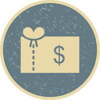 Icono de vector de bono