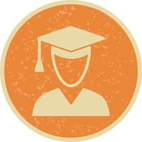 Vektor Male Student Icon