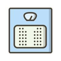 Ícone de vetor de máquina de peso