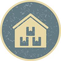 Storage Warehouse Vector Icon
