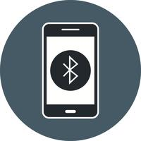 bluetooth mobil applikations vektorikonen