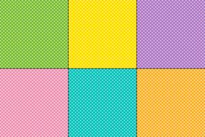 Easter small polka dot patterns