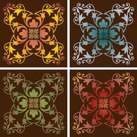 ombre patrones de azulejos