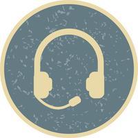 Kopfhörer-Vektor-Symbol