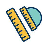 Vector icono de conjunto de geometría