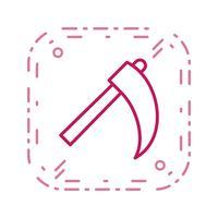 Icona di vettore della falce