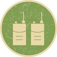 Walkie talkie Vector Icon