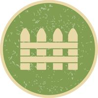 Fence Vector Icon