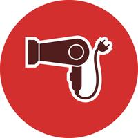Hair Dryer Vector Icon