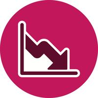 Business Fall Vector Icon