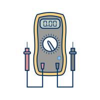 Voltmeter Vector Icon