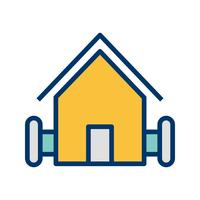 Farm House Vector Icon