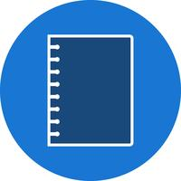 Vector spiraal Notebook-pictogram