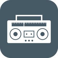 audio-tape vector pictogram