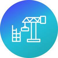 Icono de Vector de casa de construcción