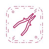 Icona di vettore della pinza