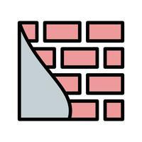 Brick wall Vector Icon