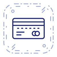 Vector icono ATM