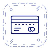 Vektor ATM-ikon