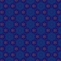 ornate blue and gold jewish star pattern