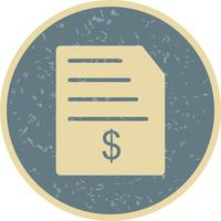 Invoice Vector Icon
