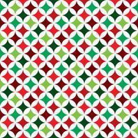 Vector nahtlose Musterillustration auf einem Weihnachtsfeierthema auf weißem Hintergrund.