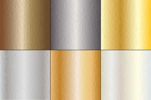 Hammered Metal Backgrounds vector
