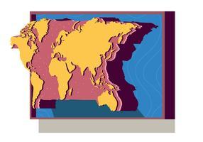 3d internationell karta