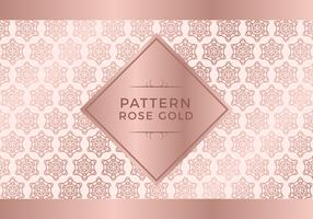 Rosegold Pattern Background vector