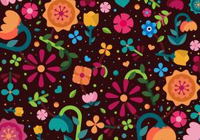 Blumenhintergrund Vektor