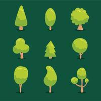 Baum-Sammlung-Vektor
