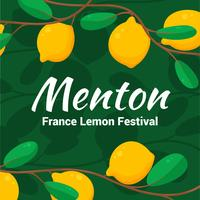 menton france fête du citron vecteur