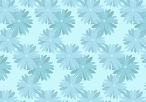 Blauer Blumenhintergrund