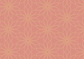 Coral Floral Background