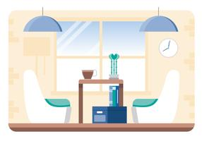 illustration de vecteur designer room