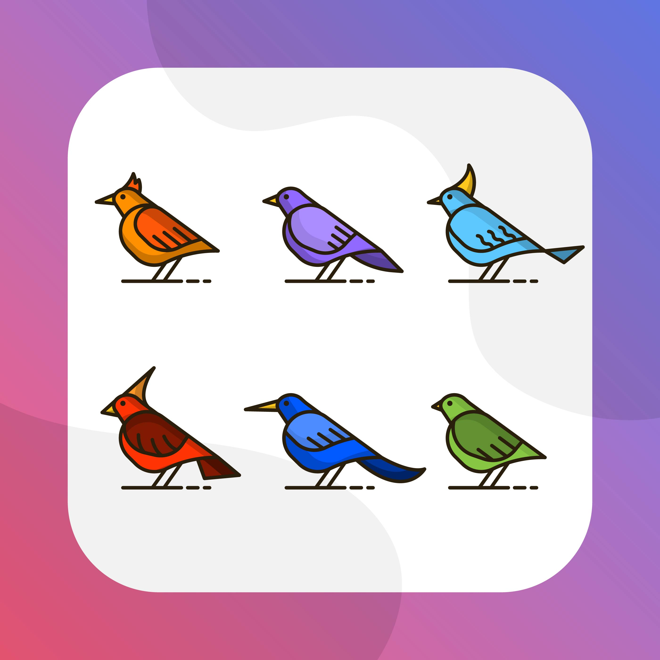 Graasisken Colored, Colorful Bird In Fantasy Colors - Colorful Bird Clipart,  Cliparts & Cartoons - Jing.fm