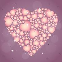Vektor valentins dag illustration