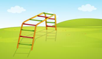 A playground equipment background