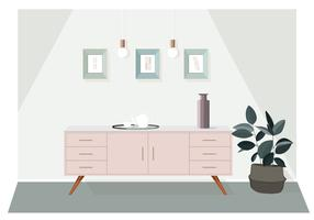 Vector  Room Illustration