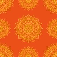 Kolam Onament patrón de diseño vectorial