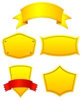 Etiquetas amarillas