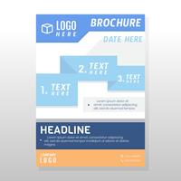 Conception de brochures commerciales