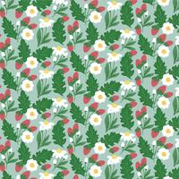 Vector Spring Seamless Pattern