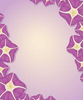 Flower template vector