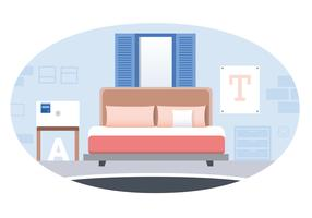 Vector Designer Room Illustration