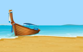 Playa de verano tailandesa