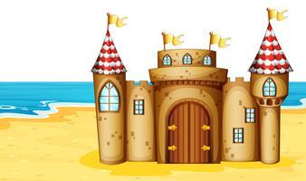 Schloss am Strand