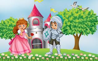 Prinzessin und Ritter